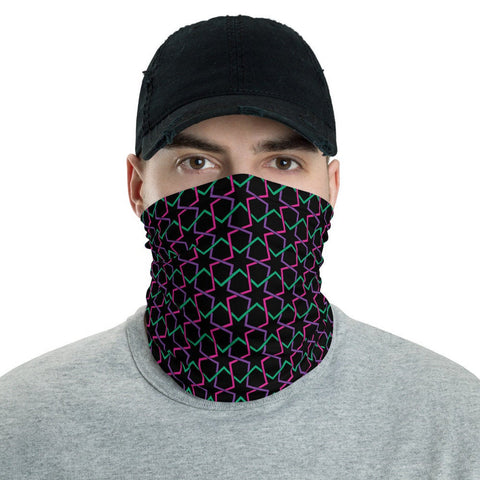 12 in 1 Islam Star Neck Gaiter Face Mask-Neck Gaiter-Eat me!