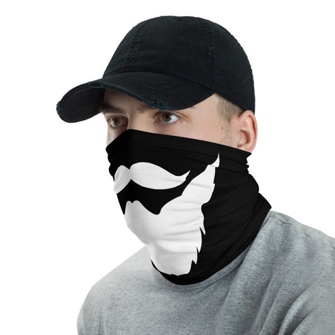 12 in 1 Moustache & Beard Neck Gaiter Face Mask-Neck Gaiter-Eat me!