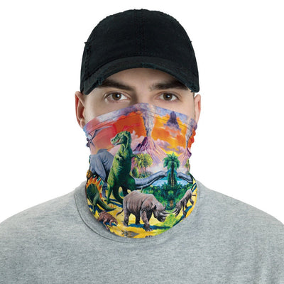 12 in 1 Dinosaur Neck Gaiter Face Mask-Neck Gaiter-Eat me!
