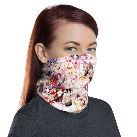 12 in 1 Hentai Neck Gaiter Face Mask-Neck Gaiter-Eat me!
