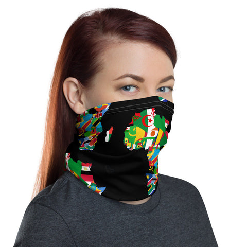 12 in 1 Africa Love Neck Gaiter Face Mask-Neck Gaiter-Eat me!