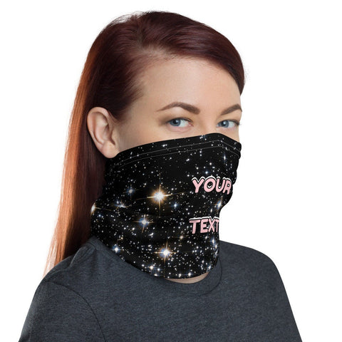 12 in 1 Customize Galaxy Stars Neck Gaiter Face Mask-Neck Gaiter-Eat me!
