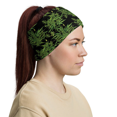 12 in 1 Weed Plant Macho Neck Gaiter Face Mask-Neck Gaiter-Eat me!