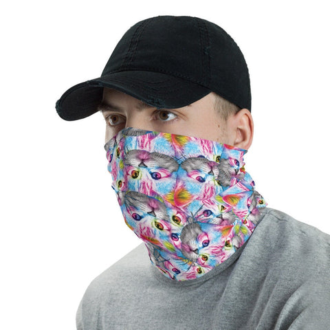 12 in 1 Cats Neck Gaiter Face Mask-Neck Gaiter-Eat me!