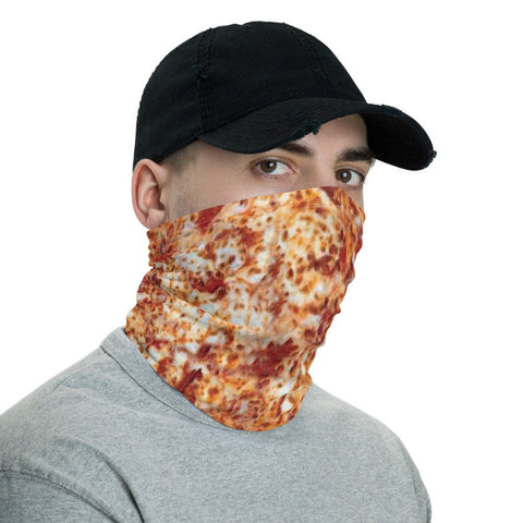 12 in 1 Pizza Neck Gaiter Fabric Face Mask-Neck Gaiter-Eat me!