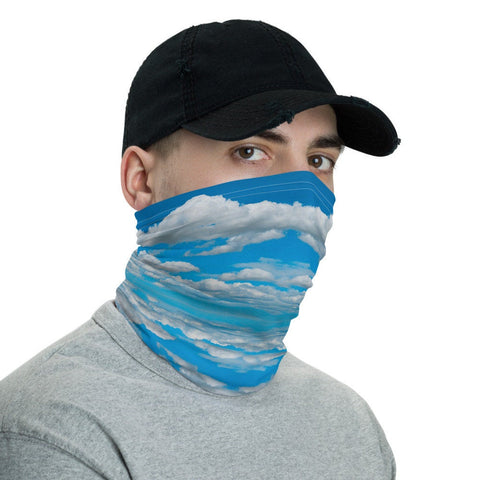 12 in 1 Clouds Neck Gaiter Face Mask-Neck Gaiter-Eat me!