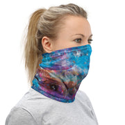 12 in 1 Blue Universe Stars Neck Gaiter Face Mask-Neck Gaiter-Eat me!