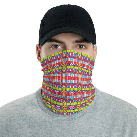 12 in 1 Mexican Aguayo Neck Gaiter Face Mask-Neck Gaiter-Eat me!