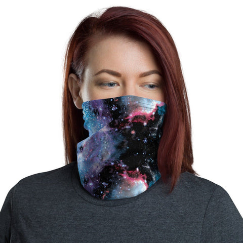 12 in 1 Universe Galaxy Face Mask-Neck Gaiter-Eat me!