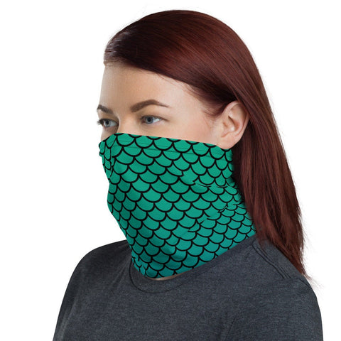 12 in 1 Mermaid Merman Neck Gaiter Face Mask-Neck Gaiter-Eat me!