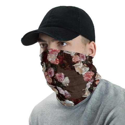 12 in 1 New Order Flowers Neck Gaiter Face Mask-Neck Gaiter-Eat me!
