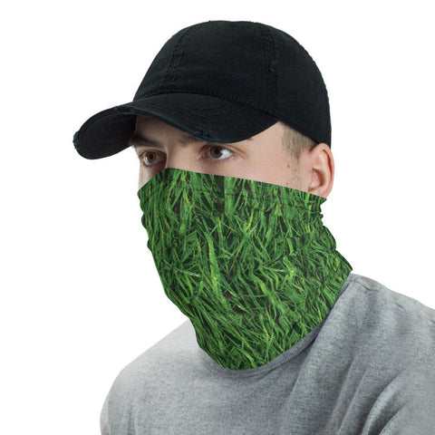 12 in 1 Grass Plant Neck Gaiter Face Mask-Neck Gaiter-Eat me!