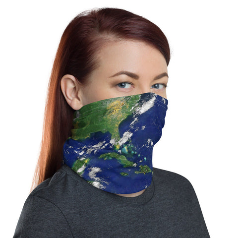 12 in 1 Earth Nasa Photography Neck Gaiter Face Mask-Neck Gaiter-Eat me!