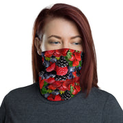 12 in 1 Berries Fruits Neck Gaiter Face Mask-Neck Gaiter-Eat me!