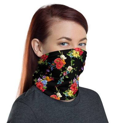 12 in 1 Floral Neck Gaiter Face Mask-Neck Gaiter-Eat me!