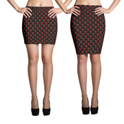 Little Red Roses Pencil Skirt-Skirts-Eat me!
