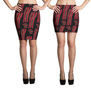 A Tribe Called Quest Pencil Skirt-Skirts-Eat me!