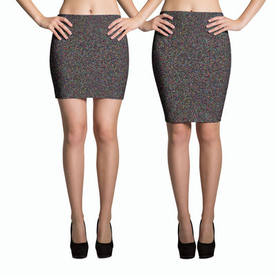 Crystallized Pencil Skirt-Skirts-Eat me!