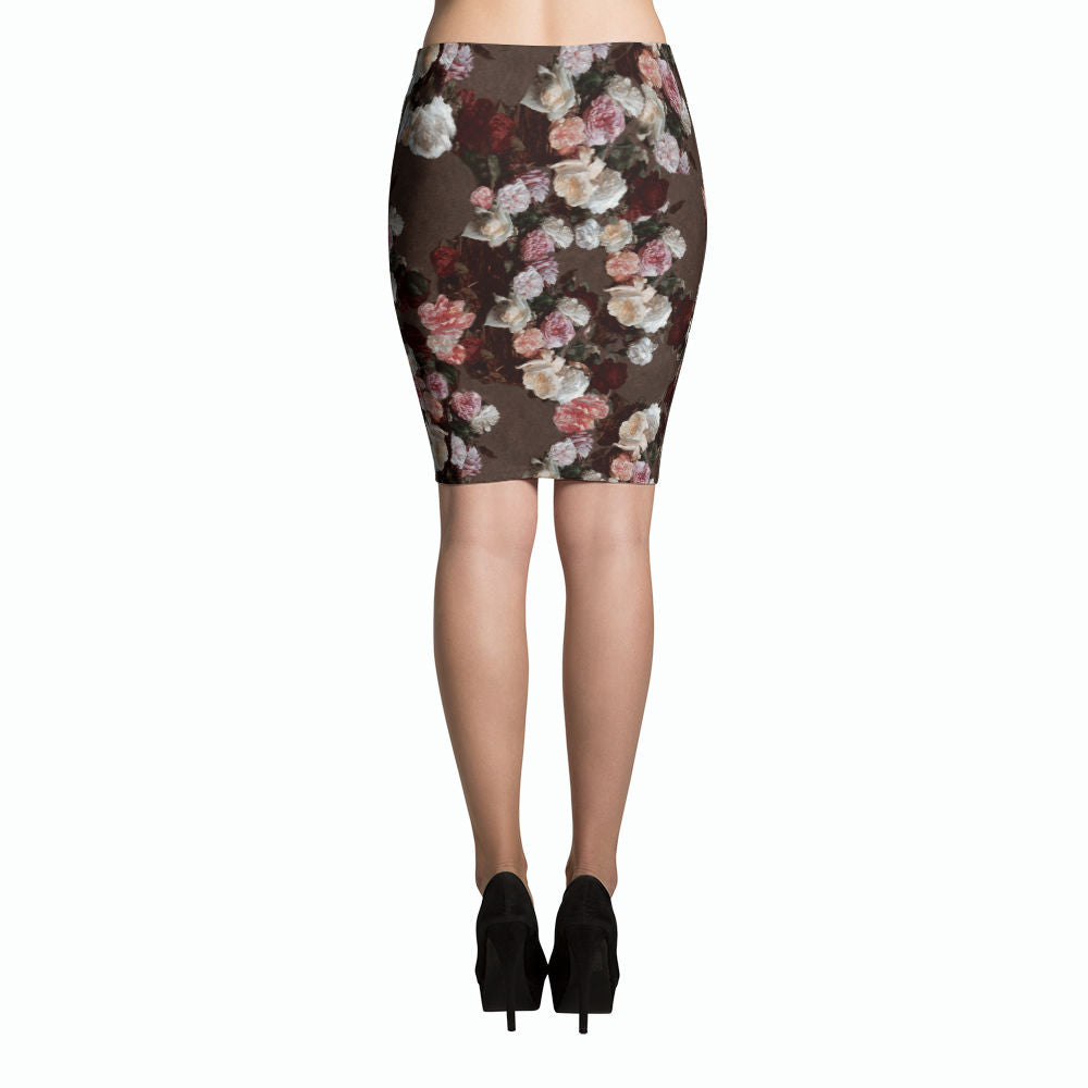 New Order Pencil Skirt | Falda Tubo New Order-Skirts-Eat me!