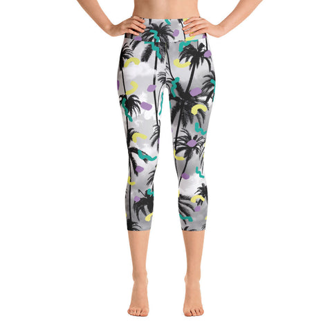 Palms Yoga Leggings-Yoga Leggings-Eat me!