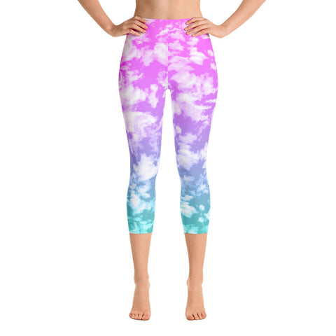 Clouds Yoga Leggings-Yoga Leggings-Eat me!