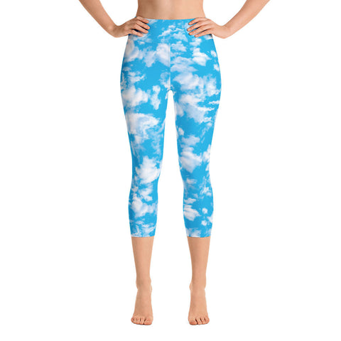 Clouds Yoga Leggings | Leggings Yoga Nubes