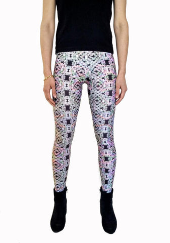 Rainbow Pearl Leggings | Perla Rainbow Leggings