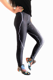 Black Storm Leggings-Leggings-Eat me!