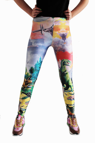 Dinosaur Leggings | Dino Leggings