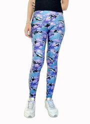 Dolphins & Whales Leggings-Leggings-Eat me!