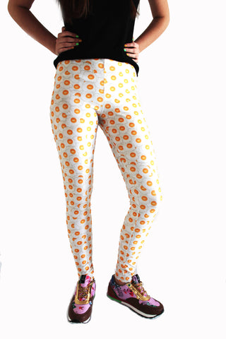 Fried Eggs Leggings-Leggings-Eat me!