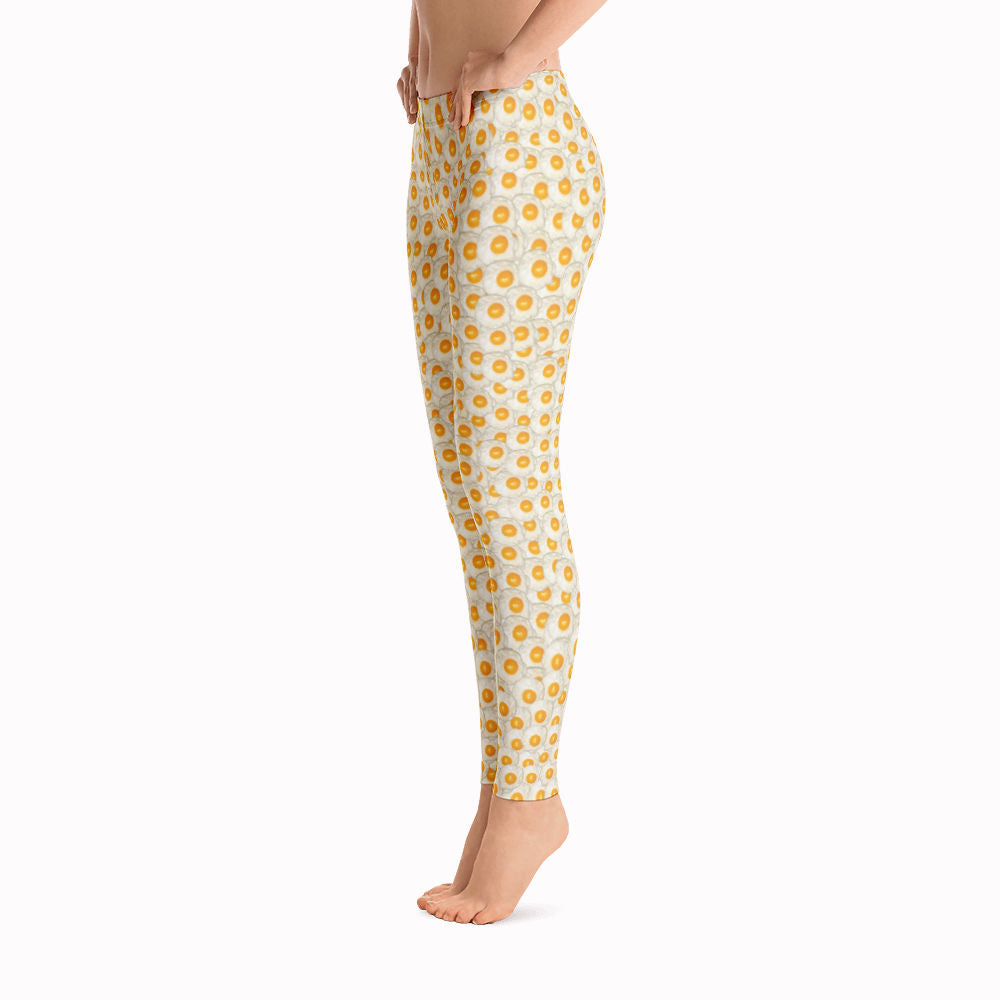 Fried Eggs Leggings | Huevos Fritos Leggings-Leggings-Eat me!