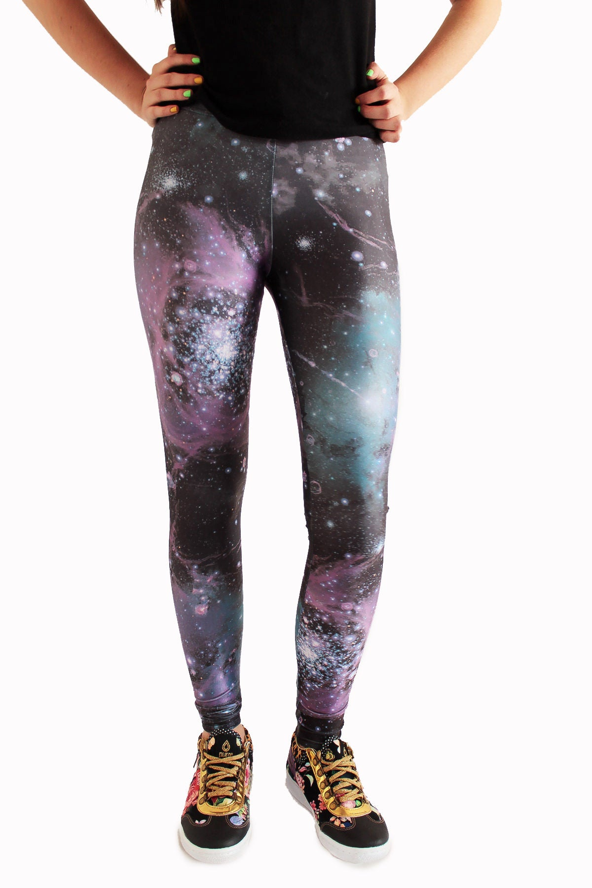 Galaxy Leggings | Galaxia Leggings-Leggings-Eat me!