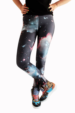 Nebula Galaxy Leggings | Nebulosa Leggings