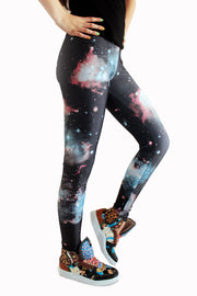 Nebula Galaxy Leggings-Leggings-Eat me!