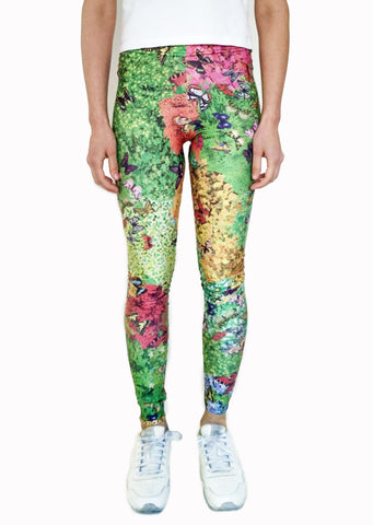 Plants & Butterflies Leggings | Mariposas & Plantas Leggings