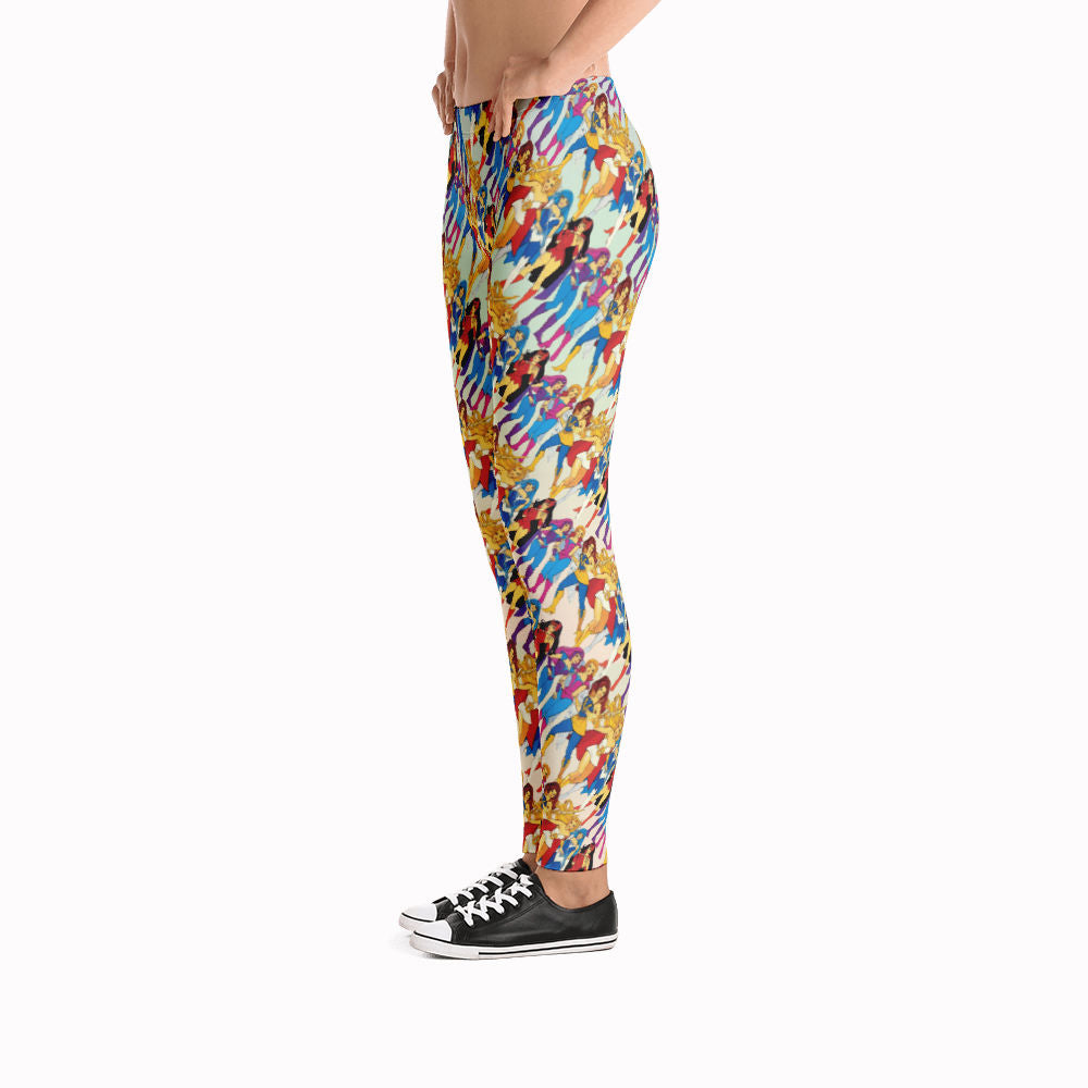 She-ra & Wizards Leggings | She-ra y Hechiceras Leggings-Leggings-Eat me!