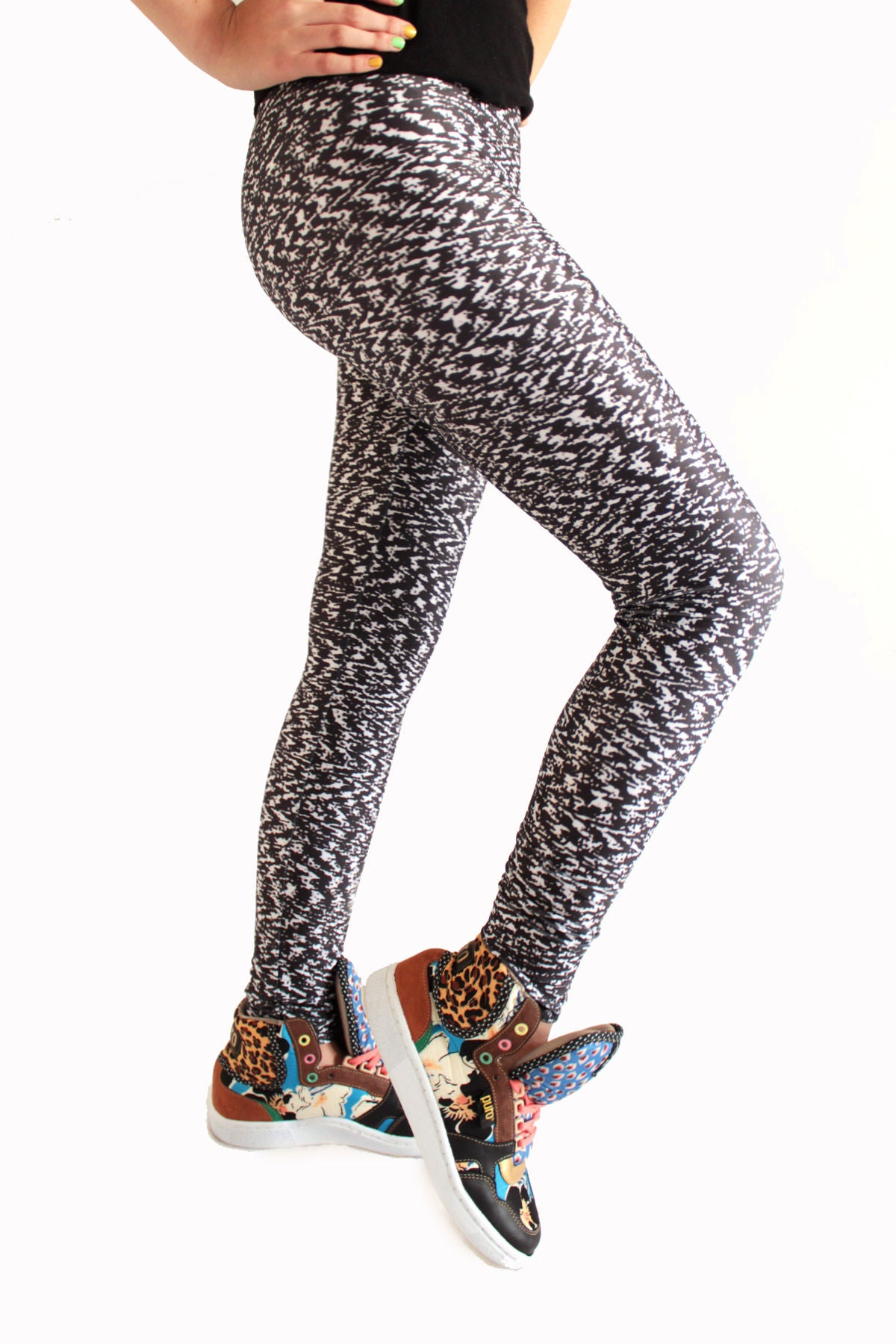 Ziggynoise Leggings | Ziggynoise Leggings-Leggings-Eat me!