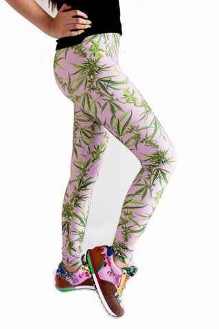 Cannabis Sativa Leggings | Cannabis Sativa Leggings
