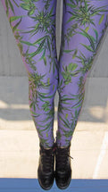 Cannabis Sativa Leggings | Cannabis Sativa Leggings-Leggings-Eat me!