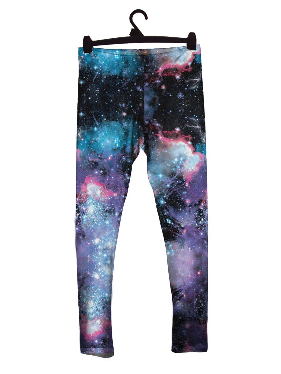Universal Galaxy Leggings | Universal Galaxy Leggings-Leggings-Eat me!