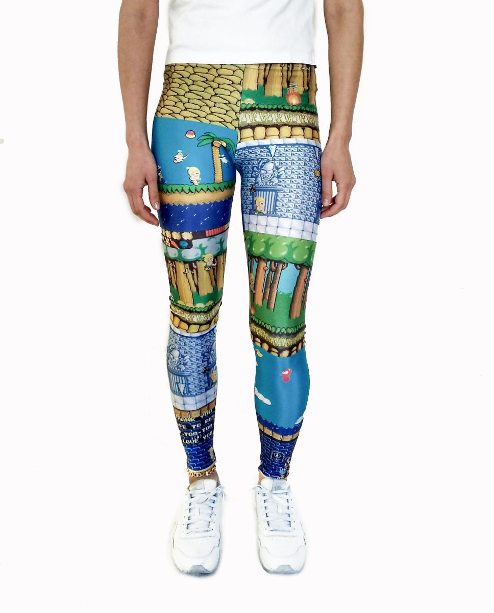 Wonderboy Leggings | Wonderboy Leggings-Leggings-Eat me!
