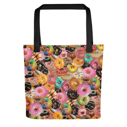 Donuts Tote Bag-Tote Bags-Eat me!