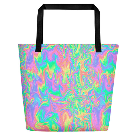 Acid Pastel Beach Bag | Bolso de Playa Acid Pastel