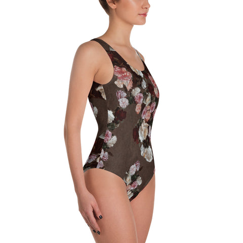 New Order One-Piece Swimsuit-Swimsuit-Eat me!