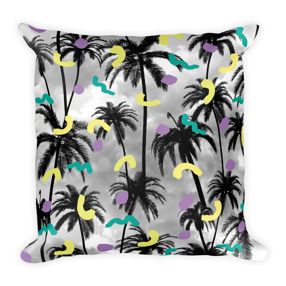 Palms Pillow | Cojín Palmeras-Pillow Cases-Eat me!