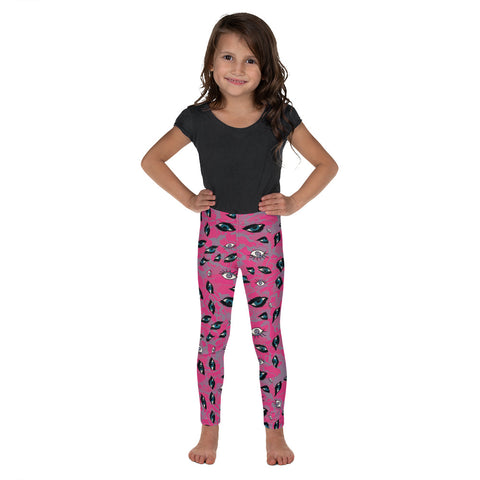 Eyes Kid´s Leggings-Kids Leggings-Eat me!