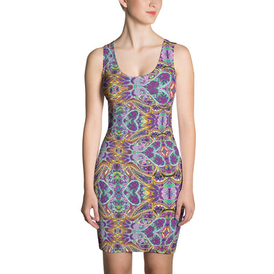 Paisley Dress-Dresses-Eat me!