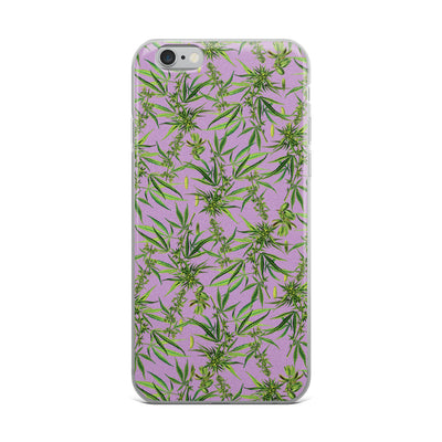 Cannabis Plant iPhone Case-Phone Cases-Eat me!