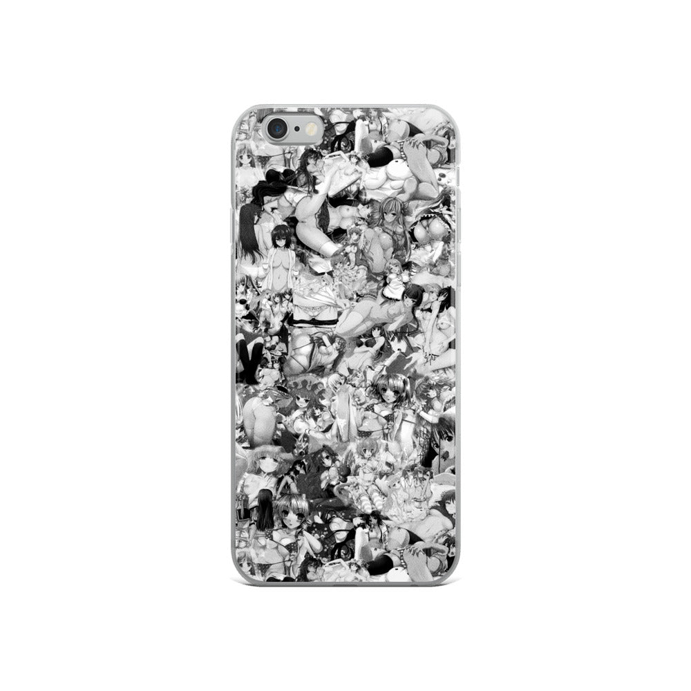 Hentai B&W iPhone Case-Phone Cases-Eat me!